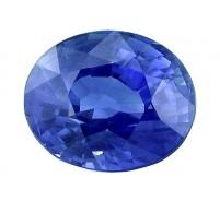 Saphir (bleu) OV 9.80mm 4.52 ct